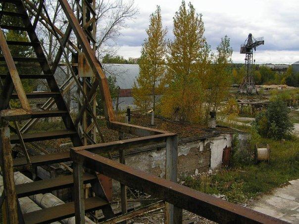Заброшенные фабрики...