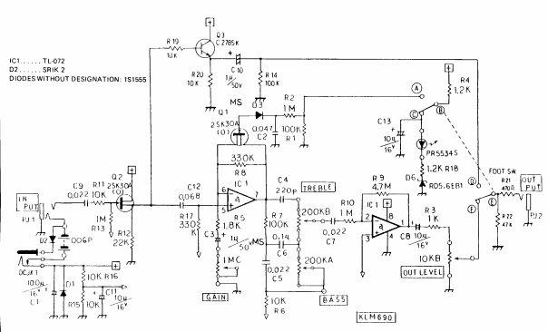 42. схемы достойных аудио усилителей и примочек.  Усилители и примочки для гитары.