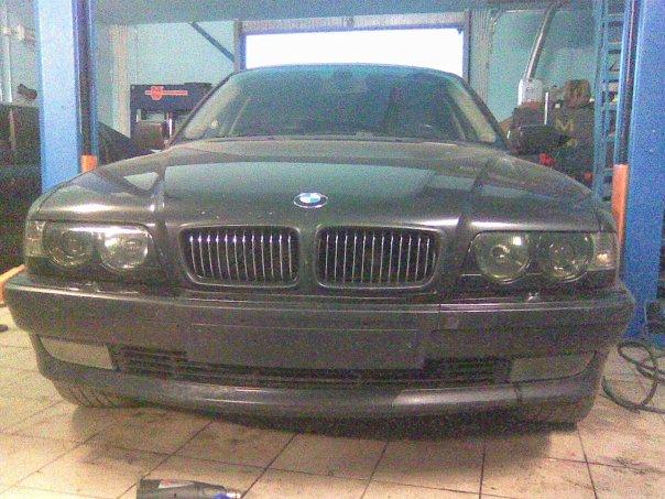 BMW E38 Club - Затонировал фары)))