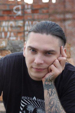 Татуировка от художника иннормиста Григория Маслова