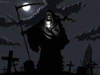 Смерть Костлявая