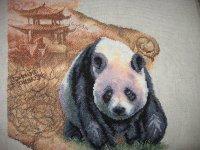 "Набор для вышивания  ""Королевская панда "" * Техника: счётный крест * Артикул: Ж-280 * Размер:36 х 32,2 см..."