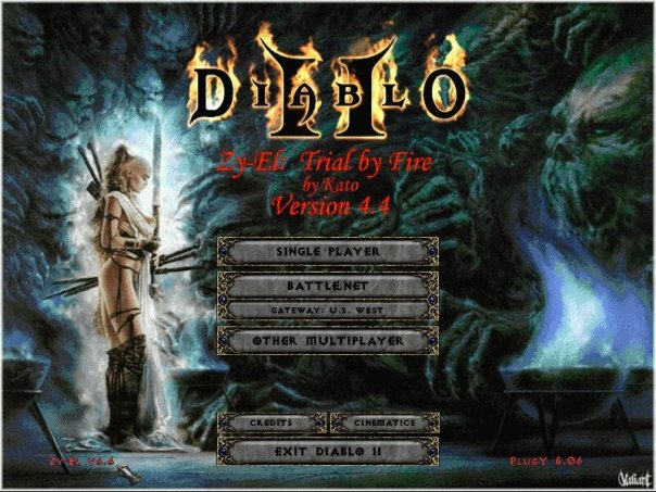 Создан Cервер для игры Diablo 2 Zy-El Mod . Чтобы зайти на Сервер вам пона