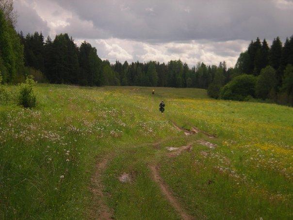 Велопоходик Оять - Пикалево