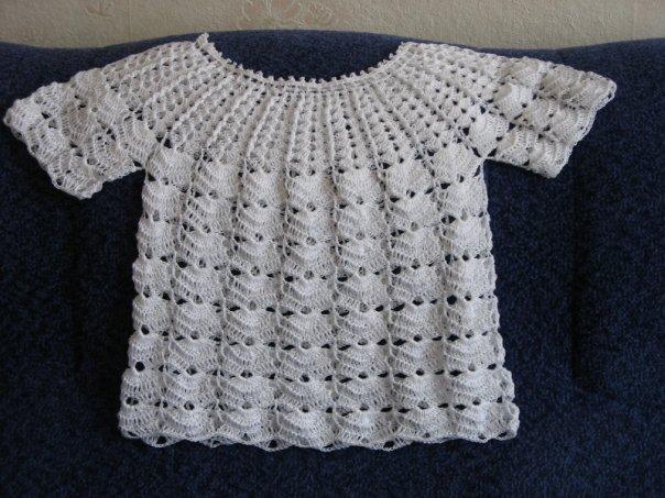 Платья детям (и спицами, и крючком) - Вязание - Страна Мам