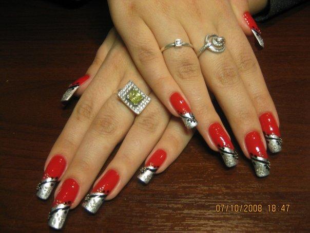 Как можно красить нарощенные ногти