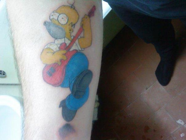 """Мой """"Личный"""" Гомер симпсон"""
