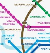 Интерактивная схема метро москвы с расчетом времени