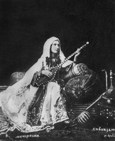 Чонгури - грузинский народный инструмент