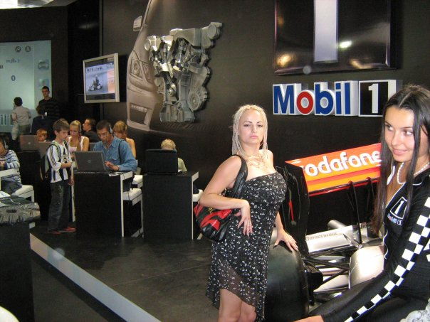 Мои путешествия. Елена Руденко. Киев ( Авто шоу ) 2009 г.  X_05a442ec