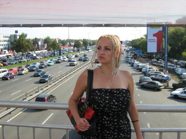 Мои путешествия. Елена Руденко. Киев ( Авто шоу ) 2009 г.  X_91ac7c2d