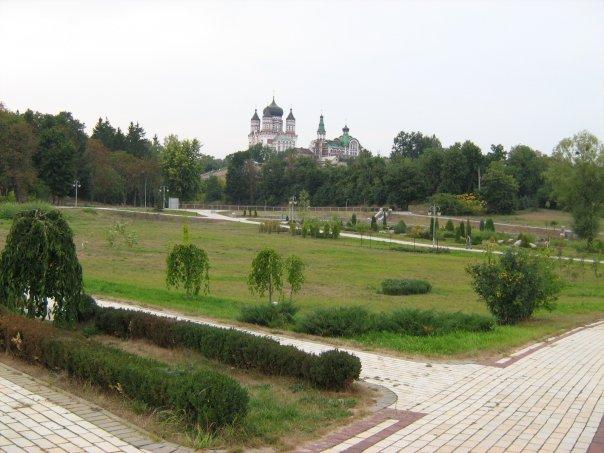 Мои путешествия. Елена Руденко. Феофания - историческая местность на окраине Киева. 2009 г. X_350e4a4a