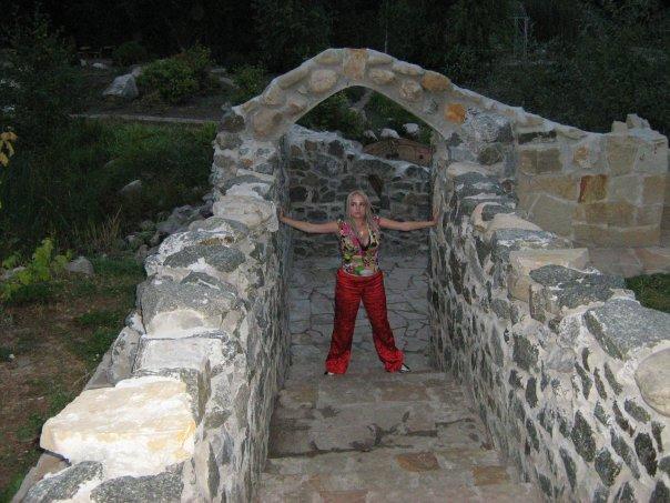 Мои путешествия. Елена Руденко. Феофания - историческая местность на окраине Киева. 2009 г. X_936de351