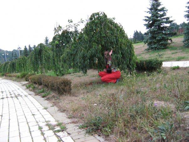 Мои путешествия. Елена Руденко. Феофания - историческая местность на окраине Киева. 2009 г. X_a7ed4737