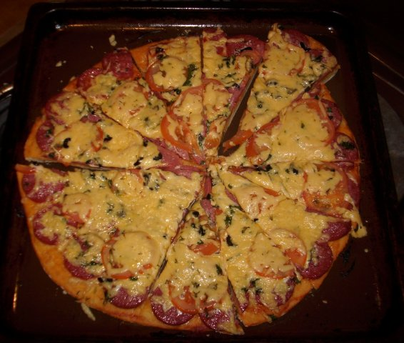 Пицца дома фото