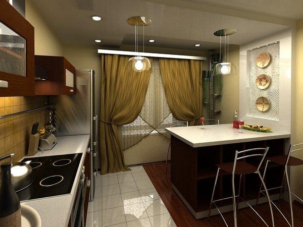 Дачная кухня дизайн фото
