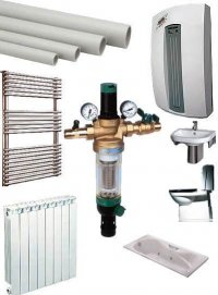 Комплектация объектов современными системами отопления, водоснабжения,канализации по Вашей заявке. (консультации по...