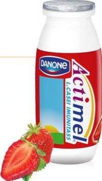 """Напиток кисломолочный  """"Актимель """" с бифидобактериями клубника, жирность 1..."""