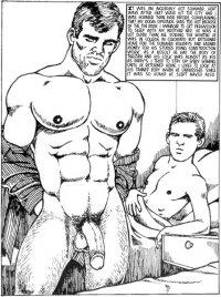 рисованное гей порноъ