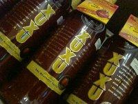 """...клубничный ликер  """"КСЮ-КСЮ """" (XUXU) Алкоголь из Дюти Фри (Duty Free)."""
