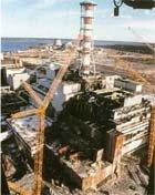 Четвёртый блок Чернобыльской АЭС.