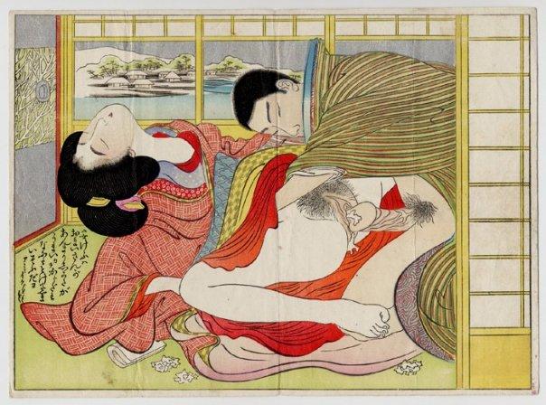 Японские эротические рисунки й (24 фото)