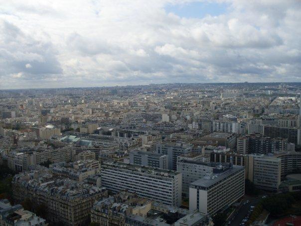 Париж. Эйфелева башня