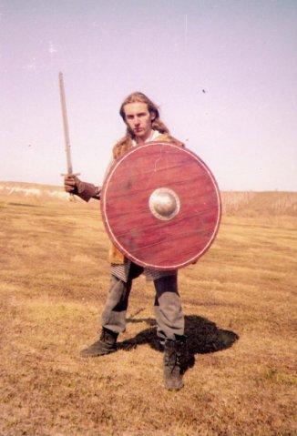 2004 год: Ролевая стилизация скандинавского воина (9-10 вв.)