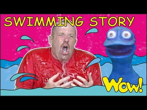 Swimming Story for Kids from Steve and Maggie with Bobby   English Speaking with Wow English TV