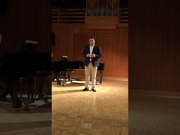 "Talented Young Greek Tenor Christos sings ""Non ti scordar di me"" by Ernesto De Curtis"