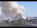 Тридцать человек эвакуировали из пылающего дома в Домодедове