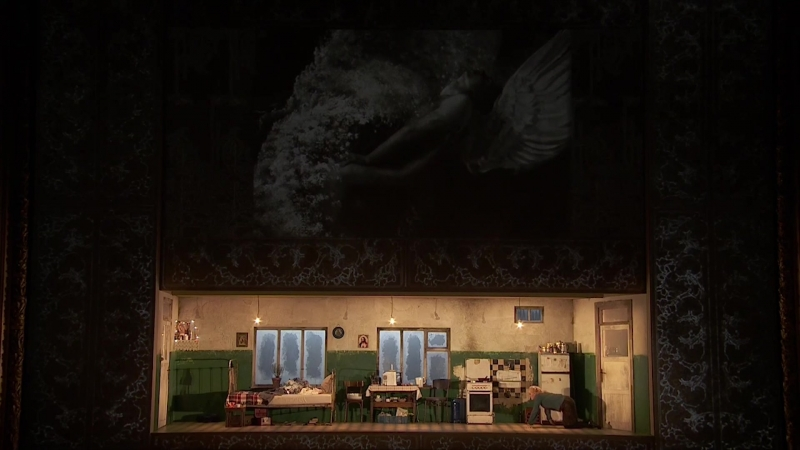 Théâtre de la Monnaie Брюссель Jenůfa Leoš Janáček режиссер Алвис Херманис художник по свету Глеб Фильштинский хореогра