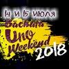 Bacahta Uno Weekend 2018.
