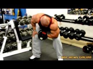 Phil Heath - Training Session @ the NPC News Online Photo Gym