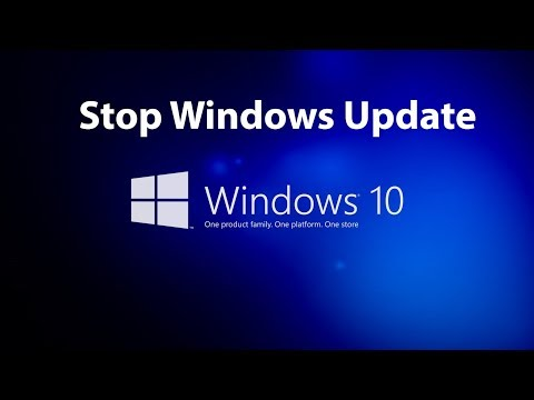 How To Stop Update Windows 10 || From Automatically Downloading Installing Updates