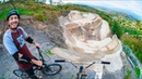 48 YEAR OLD BMXER MADE SKATEPARK IN THE MOUNTAINS!