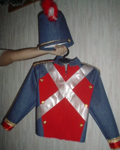 Костюм солдата своими руками фото