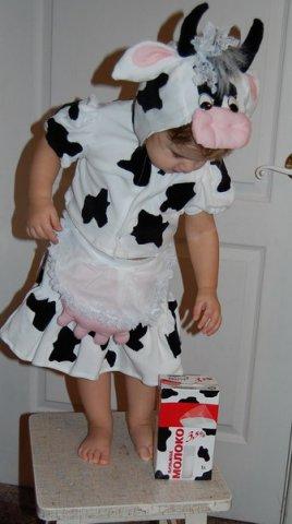 Костюм коровы сшить своими руками