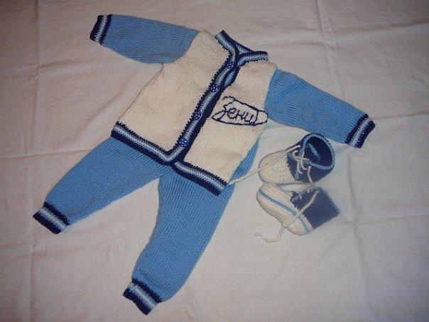 Вязание костюм для мальчиком год