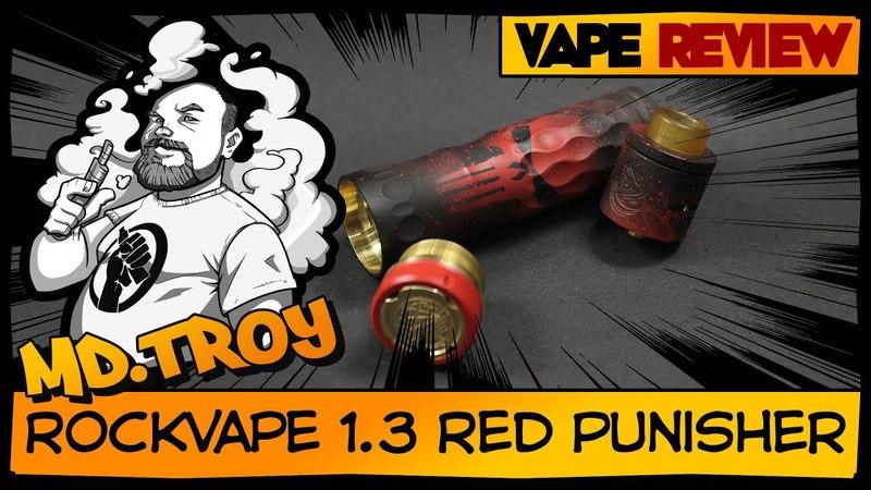 ROCKVAPE V1.3 Red Punisher | from stancia.pro | мой любимый мех👍👍👍