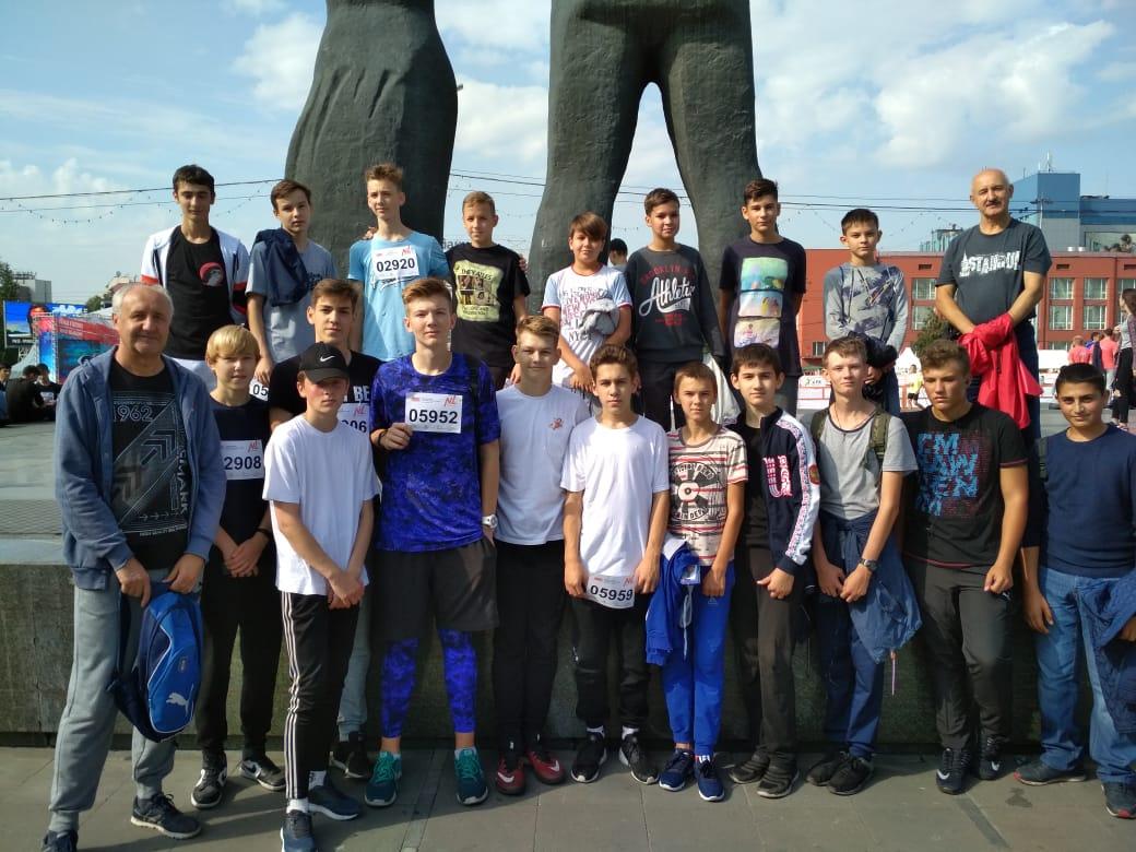 Баскетболисты под руководством Синельникова А.Г. и Старчикова В. В.