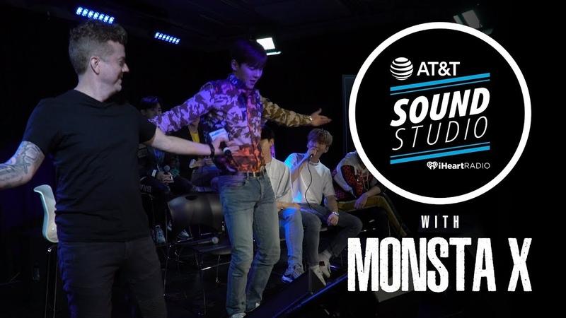 [YT][17.08.2018] Monsta X Teach Jojo Their Dance Moves, Talk Michael Jackson, Seeing Ghost More! @102.7KIISFM