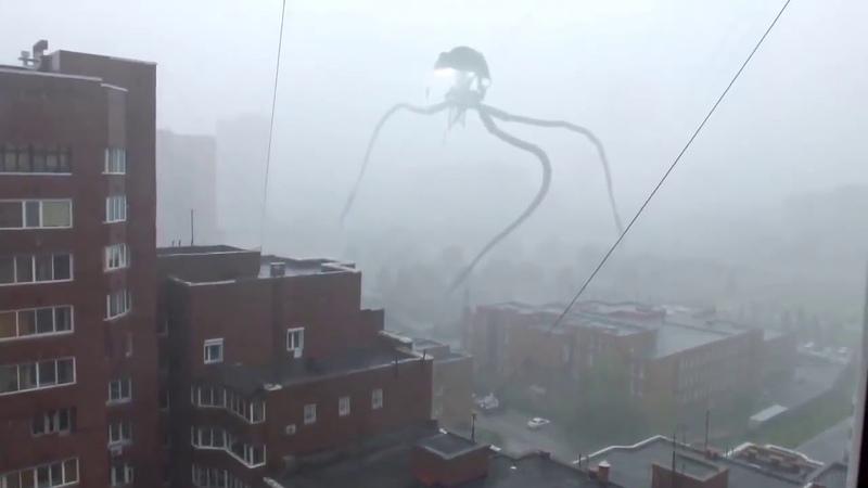 Ливень в Новосибирске совпал с испытаниями системы оповещения...