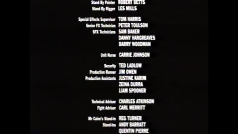 Movie End Credits 83 Shiner
