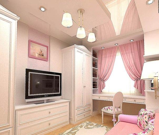 Вариантом оформления детской комнаты