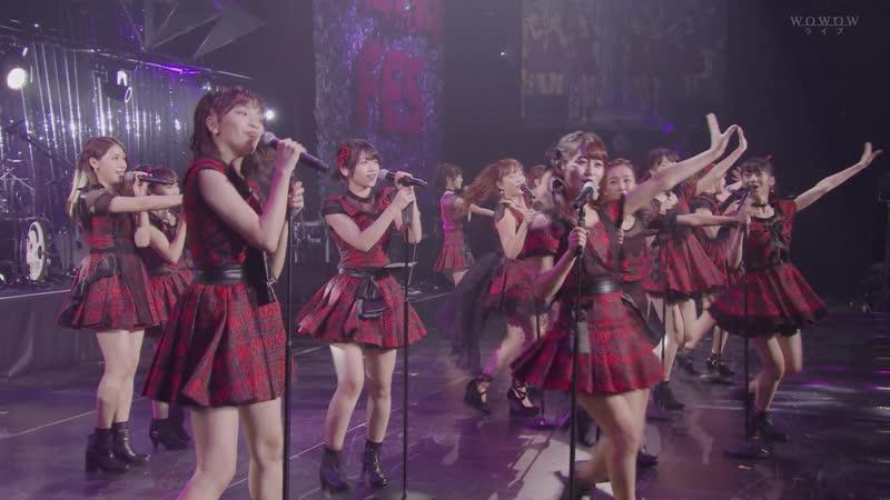 AKB48 Tomomi Kasai (ExAKB48) Tomomi Itano (ExAKB48) Kishidan – Heavy Rotation Koisuru Fortune Cookie – WADA FES – 2018/1