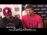 Gennady Golovkin and Abel Sanchez speak on the benefits of training at the Summit Gym in Big Bear, C