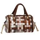 ...просто эксклюзив Женская сумка Pola выполнена из искусственной кожи .