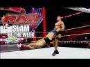 Antonio Cesaro brings some old school wrestling back- Raw Slam of the Week 9/9