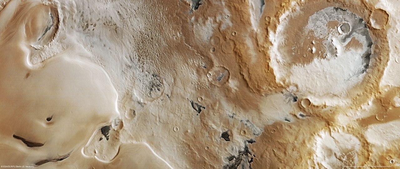 Какого цвета Марс? (много фото)